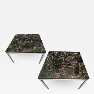 Florence Knoll Pair of end tables by Florence Knoll