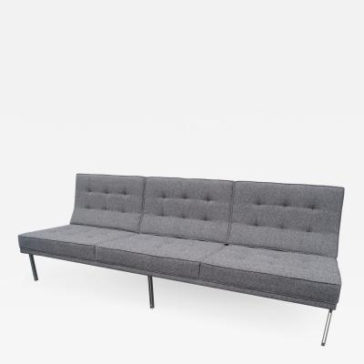 Florence Knoll Parallel Bar Sofa Model 53 by Florence Knoll
