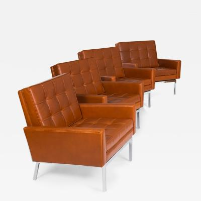 Florence Knoll Set of Four Florence Knoll Chairs