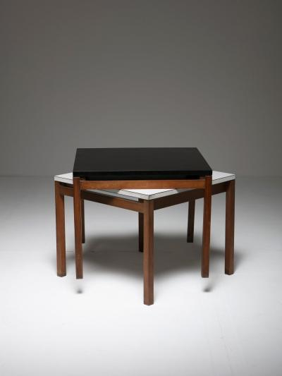 Florence Knoll Set of Two Side Tables by Florence Knoll for Knoll