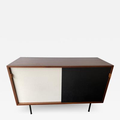 Florence Knoll Sideboard Wood and Cane Model 116 by Florence Knoll Germany 1950s