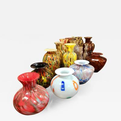 Florentine Handblown Vase in Various Shapes Sizes and Colors from the 1980s