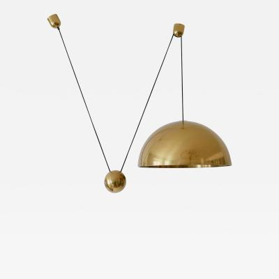 Florian Schulz Exceptional Counter Balance Pendant Lamp Solan by Florian Schulz Germany1980s