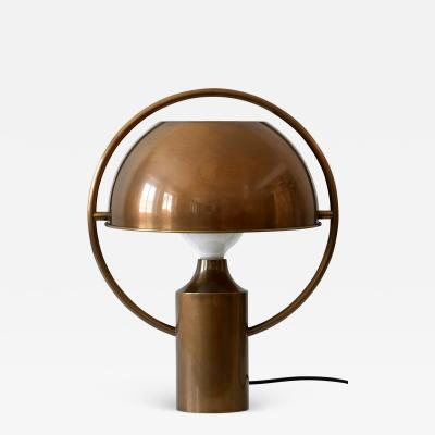 Florian Schulz Extremely Rare Mid Century Modern Table Lamp by Florian Schulz Germany 1970s
