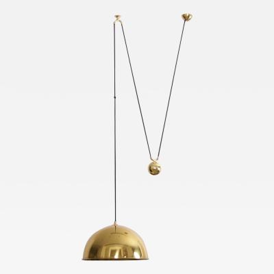 Florian Schulz Florian Schulz Posa Pendant with Counterweight in Brass
