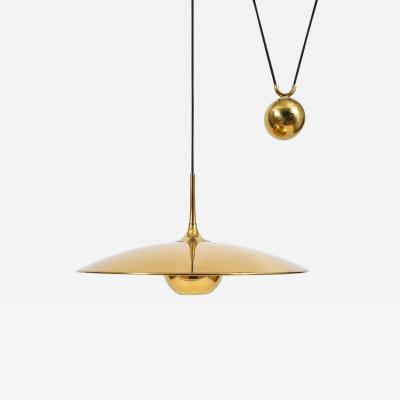 Florian Schulz Large Polished Brass Counterweight Pendant