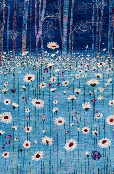 Flower Meadow 3 Zollanvari Studio Super Fine Gabbehs