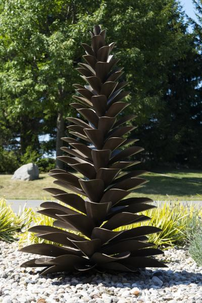 Floyd Elzinga Bronze Cone 18 227