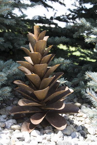 Floyd Elzinga Corten Pine Cone Medium