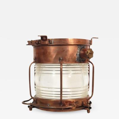Flush mounted Copper Fixture