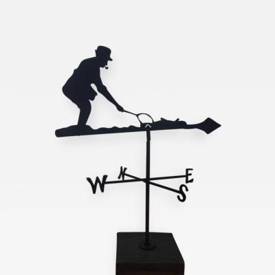 Fly Fisherman Weathervane