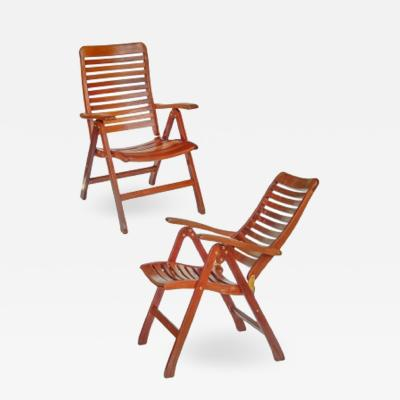 Folding Boat Deck Chairs