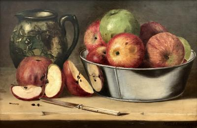 Folger A Bigelow Still Life with Apples