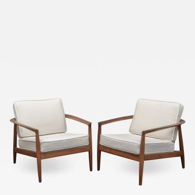 Folke Ohlsson Folke Ohlsson Lounge Chairs for DUX Sweden