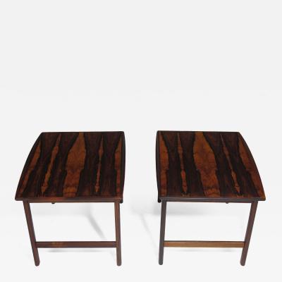 Folke Ohlsson Folke Ohlsson Rosewood Side Tables