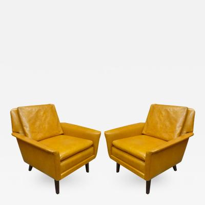 Folke Ohlsson Folke Ohlsson for Fritz Hansen Comfortable Pair of Lounge Chairs