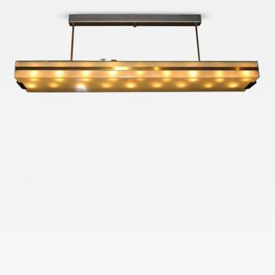 Fontana Arte An Eighteen Light Modernist Chandelier 2294 by Fontana Arte