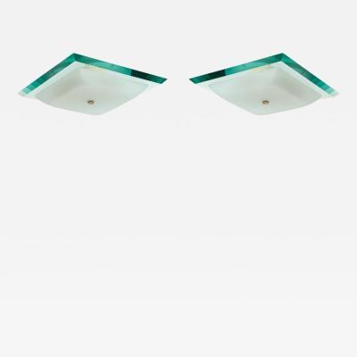 Fontana Arte Ceiling Lights Model 1990 by Max Ingrand for Fontana Arte
