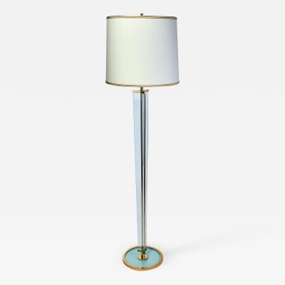 Fontana Arte Clear Glass Floor Lamp 1950s