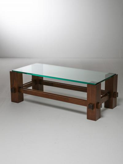 Fontana Arte Coffee Table Model 2461 by Fontana Arte