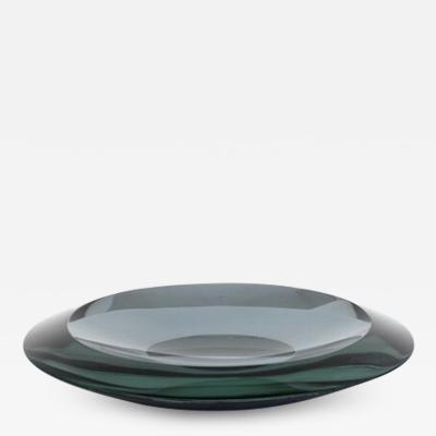 Fontana Arte Fontana Arte Italian Glass Dish Model 2036