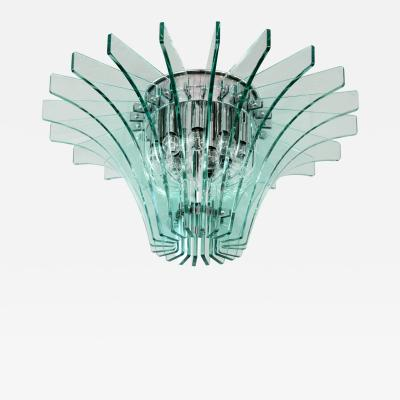 Fontana Arte Fontana Arte Radial Glass Fixture 1960s