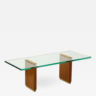 Fontana Arte Fontana Arte glass top low table