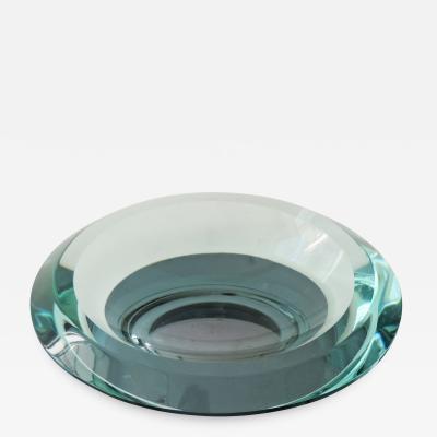 Fontana Arte Fontana Arte mirrored base ashtray Italy 1960s