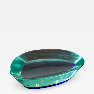 Fontana Arte Glass Bowl by Fontana Arte Italy circa 1960