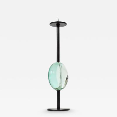 Fontana Arte Max Ingrand Candlestick for Fontana Arte Italy 1950s