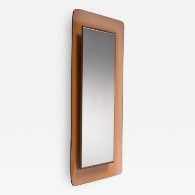 Fontana Arte Max Ingrand for Fontana Arte rectangular glass wall mirror