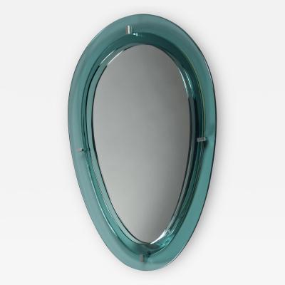 Fontana Arte Oval Mirror by Fontana Arte Italy 1960 s