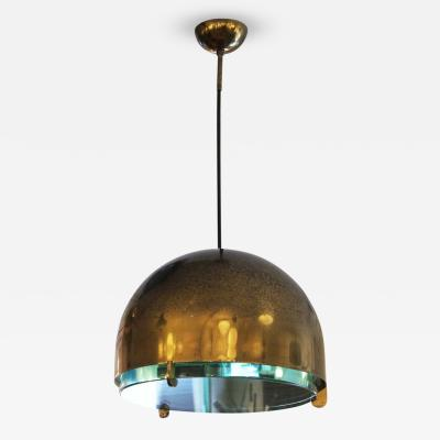 Fontana Arte Rare Brass Pendant Mod 2409 Italy 1960s