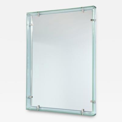 Fontana Arte Rare Rectangular Mirror by Fontana Arte