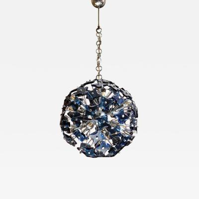 Fontana Arte Sputnik chandelier produced by Fontana Arte 1970s