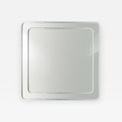 Fontana Arte Squared Mirror with Mirror Frame
