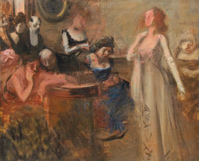 JEAN LOUIS FORAIN The Recital