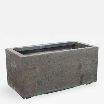 Forms Surfaces Massive Cast Bronze Resin Planter by Forms and Surfaces