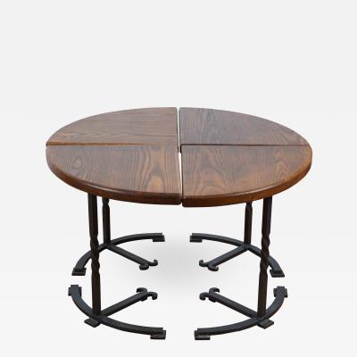 Four Part Circular Table