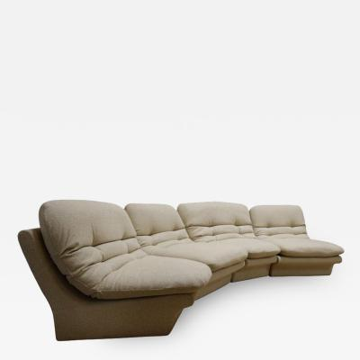 Four Pieces Sectional Attributed to Vladimir Kagan