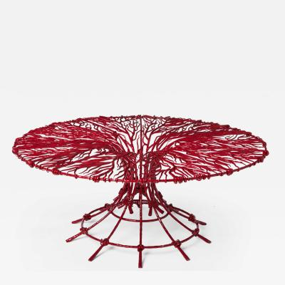 Fran Taubman Fran Taubman Enamel Wire Coffee Table
