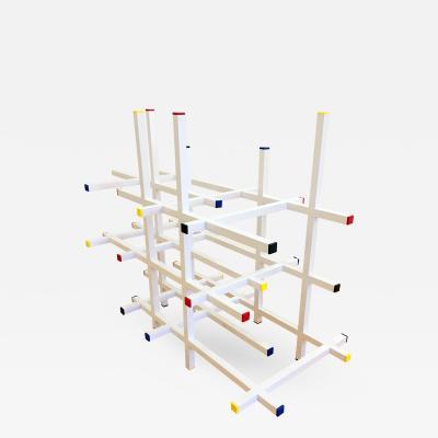 Fran Taubman Fran Taubman Mondrian Style Console Base