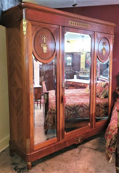 Fran ois Linke 19C French Empire Style Complete Bedroom Set Outstanding