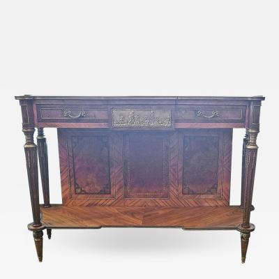 Fran ois Linke 19th Century French Louis XVI Breakfast Console Buffet