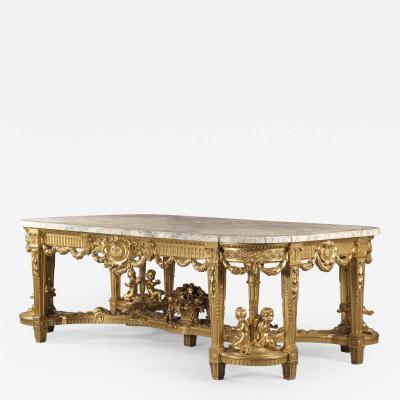Fran ois Linke A Louis XVI Style Giltwood Centre Table