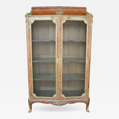 Fran ois Linke French 19th Century Dor Bronze Bookcase by F Linke