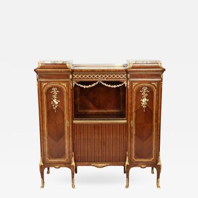 Fran ois Linke Inlaid Wood Music Cabinet