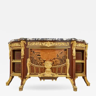 Fran ois Linke Meuble Soleil gilt bronze mounted marquetry commode by Linke and Alix