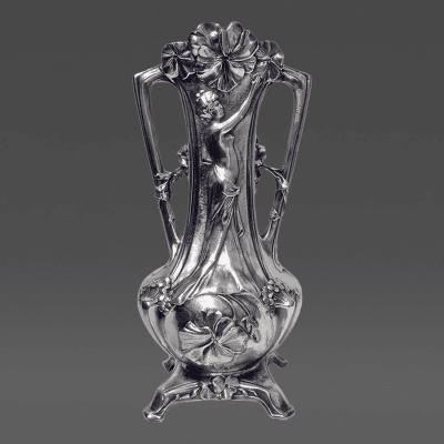 Fran ois Moreau Moreau Art Nouveau Vase France