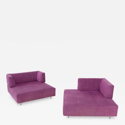Francesco Binfar Edra LHomme et la Femme Modular Sofa by Francesco Binfar 1993